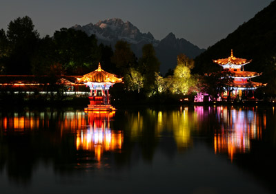 Black Dragon Pool Park, Lijiang.