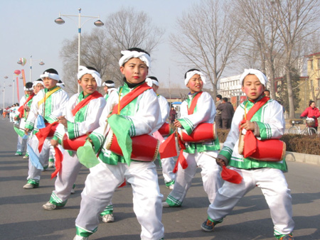 School Band, Beijing, China.