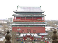 Drum Tower, Beijing, China.